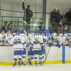 2/25/17 1:14:45 PM Hamilton College Men's Hockey v Bowdoin College in a NESCAC Quarterfinal at Russell Sage Rink, Hamilton College, Clinton, NY<br /> <br /> Photo by Josh McKee