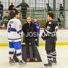 2/25/17 1:04:00 PM Hamilton College Men's Hockey v Bowdoin College in a NESCAC Quarterfinal at Russell Sage Rink, Hamilton College, Clinton, NY<br /> <br /> Photo by Josh McKee