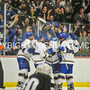 2/25/17 2:25:51 PM Hamilton College Men's Hockey v Bowdoin College in a NESCAC Quarterfinal at Russell Sage Rink, Hamilton College, Clinton, NY<br /> <br /> Photo by Josh McKee