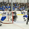 2/25/17 2:02:31 PM Hamilton College Men's Hockey v Bowdoin College in a NESCAC Quarterfinal at Russell Sage Rink, Hamilton College, Clinton, NY<br /> <br /> Photo by Josh McKee