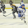 2/25/17 4:41:19 PM Hamilton College Women's Hockey v Bowdoin College in a NESCAC Quarterfinal at Russell Sage Rink, Hamilton College, Clinton, NY<br /> <br /> Photo by Josh McKee