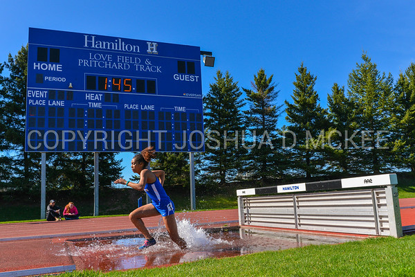 4/18/17 4:04:21 PM Hamilton College Track and Field Mid-Week Meet, at Pritchard Track, Hamilton College, Clinton, NY<br /> <br /> Photo by Josh McKee