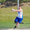 4/18/17 4:36:54 PM Hamilton College Track and Field Mid-Week Meet, at Pritchard Track, Hamilton College, Clinton, NY<br /> <br /> Photo by Josh McKee