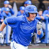 Hamilton College infielder Matt Cappelletti (13)<br /> <br /> 4/13/18 3:25:12 PM Baseball: Wesleyan University vs Hamilton College at Loop Road Baseball/Softball Complex, Hamilton College, Clinton, NY<br /> <br /> Final: Wesleyan 2    Hamilton 3<br /> <br /> Photo by Josh McKee