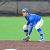 Hamilton College infielder Jarrett Lee (4)<br /> <br /> 4/13/18 5:02:32 PM Baseball: Wesleyan University vs Hamilton College at Loop Road Baseball/Softball Complex, Hamilton College, Clinton, NY<br /> <br /> Final: Wesleyan 2    Hamilton 3<br /> <br /> Photo by Josh McKee