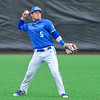 Hamilton College outfielder Rich Marooney (5)<br /> <br /> 4/13/18 4:34:42 PM Baseball: Wesleyan University vs Hamilton College at Loop Road Baseball/Softball Complex, Hamilton College, Clinton, NY<br /> <br /> Final: Wesleyan 2    Hamilton 3<br /> <br /> Photo by Josh McKee