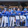Team, Celebration<br /> <br /> 4/13/18 3:07:56 PM Baseball: Wesleyan University vs Hamilton College at Loop Road Baseball/Softball Complex, Hamilton College, Clinton, NY<br /> <br /> Final: Wesleyan 2    Hamilton 3<br /> <br /> Photo by Josh McKee