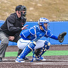 Hamilton College catcher Craig Sandford (30)<br /> <br /> 4/13/18 3:07:51 PM Baseball: Wesleyan University vs Hamilton College at Loop Road Baseball/Softball Complex, Hamilton College, Clinton, NY<br /> <br /> Final: Wesleyan 2    Hamilton 3<br /> <br /> Photo by Josh McKee
