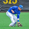 Hamilton College outfielder Rich Marooney (5)<br /> <br /> 4/13/18 4:34:41 PM Baseball: Wesleyan University vs Hamilton College at Loop Road Baseball/Softball Complex, Hamilton College, Clinton, NY<br /> <br /> Final: Wesleyan 2    Hamilton 3<br /> <br /> Photo by Josh McKee