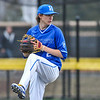 Hamilton College pitcher Chris Keane (2)<br /> <br /> 4/13/18 4:34:36 PM Baseball: Wesleyan University vs Hamilton College at Loop Road Baseball/Softball Complex, Hamilton College, Clinton, NY<br /> <br /> Final: Wesleyan 2    Hamilton 3<br /> <br /> Photo by Josh McKee