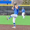 Hamilton College infielder Matt Zaffino (7)<br /> <br /> 4/13/18 5:01:47 PM Baseball: Wesleyan University vs Hamilton College at Loop Road Baseball/Softball Complex, Hamilton College, Clinton, NY<br /> <br /> Final: Wesleyan 2    Hamilton 3<br /> <br /> Photo by Josh McKee