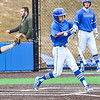 Hamilton College infielder Jarrett Lee (4)<br /> <br /> 4/13/18 4:58:00 PM Baseball: Wesleyan University vs Hamilton College at Loop Road Baseball/Softball Complex, Hamilton College, Clinton, NY<br /> <br /> Final: Wesleyan 2    Hamilton 3<br /> <br /> Photo by Josh McKee