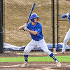 Hamilton College infielder Matt Zaffino (7)<br /> <br /> 4/13/18 5:08:18 PM Baseball: Wesleyan University vs Hamilton College at Loop Road Baseball/Softball Complex, Hamilton College, Clinton, NY<br /> <br /> Final: Wesleyan 2    Hamilton 3<br /> <br /> Photo by Josh McKee