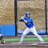Hamilton College infielder Dean Rosenberg (24)<br /> <br /> 4/13/18 3:23:06 PM Baseball: Wesleyan University vs Hamilton College at Loop Road Baseball/Softball Complex, Hamilton College, Clinton, NY<br /> <br /> Final: Wesleyan 2    Hamilton 3<br /> <br /> Photo by Josh McKee