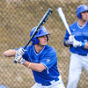 Hamilton College infielder Matt Zaffino (7)<br /> <br /> 4/13/18 3:16:37 PM Baseball: Wesleyan University vs Hamilton College at Loop Road Baseball/Softball Complex, Hamilton College, Clinton, NY<br /> <br /> Final: Wesleyan 2    Hamilton 3<br /> <br /> Photo by Josh McKee
