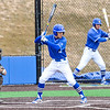 Hamilton College infielder Jarrett Lee (4)<br /> <br /> 4/13/18 3:13:51 PM Baseball: Wesleyan University vs Hamilton College at Loop Road Baseball/Softball Complex, Hamilton College, Clinton, NY<br /> <br /> Final: Wesleyan 2    Hamilton 3<br /> <br /> Photo by Josh McKee