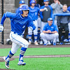 Hamilton College infielder Jarrett Lee (4)<br /> <br /> 4/13/18 4:58:02 PM Baseball: Wesleyan University vs Hamilton College at Loop Road Baseball/Softball Complex, Hamilton College, Clinton, NY<br /> <br /> Final: Wesleyan 2    Hamilton 3<br /> <br /> Photo by Josh McKee