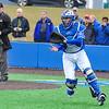 Hamilton College catcher Craig Sandford (30)<br /> <br /> 4/13/18 3:53:46 PM Baseball: Wesleyan University vs Hamilton College at Loop Road Baseball/Softball Complex, Hamilton College, Clinton, NY<br /> <br /> Final: Wesleyan 2    Hamilton 3<br /> <br /> Photo by Josh McKee