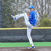 Hamilton College pitcher Chris Keane (2)<br /> <br /> 4/13/18 4:33:12 PM Baseball: Wesleyan University vs Hamilton College at Loop Road Baseball/Softball Complex, Hamilton College, Clinton, NY<br /> <br /> Final: Wesleyan 2    Hamilton 3<br /> <br /> Photo by Josh McKee