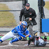Hamilton College catcher Craig Sandford (30)<br /> <br /> 4/13/18 3:55:47 PM Baseball: Wesleyan University vs Hamilton College at Loop Road Baseball/Softball Complex, Hamilton College, Clinton, NY<br /> <br /> Final: Wesleyan 2    Hamilton 3<br /> <br /> Photo by Josh McKee