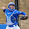 Hamilton College catcher Craig Sandford (30)<br /> <br /> 4/13/18 3:06:45 PM Baseball: Wesleyan University vs Hamilton College at Loop Road Baseball/Softball Complex, Hamilton College, Clinton, NY<br /> <br /> Final: Wesleyan 2    Hamilton 3<br /> <br /> Photo by Josh McKee