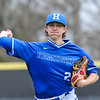 Hamilton College pitcher Chris Keane (2)<br /> <br /> 4/13/18 4:33:01 PM Baseball: Wesleyan University vs Hamilton College at Loop Road Baseball/Softball Complex, Hamilton College, Clinton, NY<br /> <br /> Final: Wesleyan 2    Hamilton 3<br /> <br /> Photo by Josh McKee