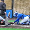 Hamilton College catcher Craig Sandford (30)<br /> <br /> 4/13/18 3:38:45 PM Baseball: Wesleyan University vs Hamilton College at Loop Road Baseball/Softball Complex, Hamilton College, Clinton, NY<br /> <br /> Final: Wesleyan 2    Hamilton 3<br /> <br /> Photo by Josh McKee