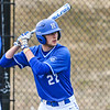 Hamilton College outfielder Ethan Wallis (22)<br /> <br /> 4/13/18 4:49:34 PM Baseball: Wesleyan University vs Hamilton College at Loop Road Baseball/Softball Complex, Hamilton College, Clinton, NY<br /> <br /> Final: Wesleyan 2    Hamilton 3<br /> <br /> Photo by Josh McKee