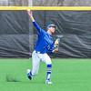 Hamilton College outfielder Ethan Wallis (22)<br /> <br /> 4/13/18 3:55:45 PM Baseball: Wesleyan University vs Hamilton College at Loop Road Baseball/Softball Complex, Hamilton College, Clinton, NY<br /> <br /> Final: Wesleyan 2    Hamilton 3<br /> <br /> Photo by Josh McKee