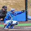 Hamilton College catcher Craig Sandford (30)<br /> <br /> 4/13/18 3:08:28 PM Baseball: Wesleyan University vs Hamilton College at Loop Road Baseball/Softball Complex, Hamilton College, Clinton, NY<br /> <br /> Final: Wesleyan 2    Hamilton 3<br /> <br /> Photo by Josh McKee