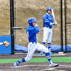 Hamilton College infielder Jarrett Lee (4)<br /> <br /> 4/13/18 3:44:36 PM Baseball: Wesleyan University vs Hamilton College at Loop Road Baseball/Softball Complex, Hamilton College, Clinton, NY<br /> <br /> Final: Wesleyan 2    Hamilton 3<br /> <br /> Photo by Josh McKee