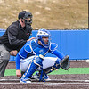 Hamilton College catcher Craig Sandford (30)<br /> <br /> 4/13/18 3:08:53 PM Baseball: Wesleyan University vs Hamilton College at Loop Road Baseball/Softball Complex, Hamilton College, Clinton, NY<br /> <br /> Final: Wesleyan 2    Hamilton 3<br /> <br /> Photo by Josh McKee