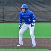Hamilton College outfielder Rich Marooney (5)<br /> <br /> 4/13/18 4:44:03 PM Baseball: Wesleyan University vs Hamilton College at Loop Road Baseball/Softball Complex, Hamilton College, Clinton, NY<br /> <br /> Final: Wesleyan 2    Hamilton 3<br /> <br /> Photo by Josh McKee