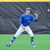 Hamilton College outfielder Ethan Wallis (22)<br /> <br /> 4/13/18 3:18:16 PM Baseball: Wesleyan University vs Hamilton College at Loop Road Baseball/Softball Complex, Hamilton College, Clinton, NY<br /> <br /> Final: Wesleyan 2    Hamilton 3<br /> <br /> Photo by Josh McKee