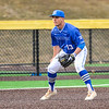 Hamilton College infielder Matt Cappelletti (13)<br /> <br /> 4/13/18 5:03:04 PM Baseball: Wesleyan University vs Hamilton College at Loop Road Baseball/Softball Complex, Hamilton College, Clinton, NY<br /> <br /> Final: Wesleyan 2    Hamilton 3<br /> <br /> Photo by Josh McKee