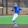 Hamilton College infielder Jarrett Lee (4)<br /> <br /> 4/13/18 3:06:01 PM Baseball: Wesleyan University vs Hamilton College at Loop Road Baseball/Softball Complex, Hamilton College, Clinton, NY<br /> <br /> Final: Wesleyan 2    Hamilton 3<br /> <br /> Photo by Josh McKee