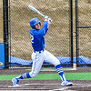 Hamilton College outfielder Ethan Wallis (22)<br /> <br /> 4/13/18 3:43:10 PM Baseball: Wesleyan University vs Hamilton College at Loop Road Baseball/Softball Complex, Hamilton College, Clinton, NY<br /> <br /> Final: Wesleyan 2    Hamilton 3<br /> <br /> Photo by Josh McKee