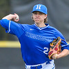 Hamilton College pitcher Chris Keane (2)<br /> <br /> 4/13/18 4:32:07 PM Baseball: Wesleyan University vs Hamilton College at Loop Road Baseball/Softball Complex, Hamilton College, Clinton, NY<br /> <br /> Final: Wesleyan 2    Hamilton 3<br /> <br /> Photo by Josh McKee