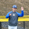 Hamilton College head coach Tim Byrnes<br /> <br /> 4/13/18 3:46:17 PM Baseball: Wesleyan University vs Hamilton College at Loop Road Baseball/Softball Complex, Hamilton College, Clinton, NY<br /> <br /> Final: Wesleyan 2    Hamilton 3<br /> <br /> Photo by Josh McKee
