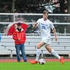 Hamilton College forward Matt Cerveny (22)<br /> <br /> 10/11/17 5:36:10 PM Men's Soccer: Utica College v Hamilton College, at Love Field, Hamilton College, Clinton, NY<br /> <br /> Final:  Utica 0  Hamilton 1  2OT<br /> <br /> Photo by Josh McKee