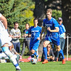 Hamilton College forward Matt Cerveny (22)<br /> <br /> 10/1/17 2:54:39 PM Men's Soccer: Tufts University v Hamilton College, at Love Field, Hamilton College, Clinton, NY<br /> <br /> Final:  Tufts 1  Hamilton 0<br /> <br /> Photo by Josh McKee