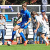 Hamilton College forward Matt Cerveny (22)<br /> <br /> 10/1/17 2:54:42 PM Men's Soccer: Tufts University v Hamilton College, at Love Field, Hamilton College, Clinton, NY<br /> <br /> Final:  Tufts 1  Hamilton 0<br /> <br /> Photo by Josh McKee