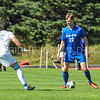 Hamilton College forward Matt Cerveny (22)<br /> <br /> 10/1/17 2:07:26 PM Men's Soccer: Tufts University v Hamilton College, at Love Field, Hamilton College, Clinton, NY<br /> <br /> Final:  Tufts 1  Hamilton 0<br /> <br /> Photo by Josh McKee