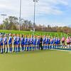 Team<br /> <br /> 10/28/17 1:00:23 PM Women's Field Hockey  NESCAC Championship Quarterfinal:  Trinity College vs Hamilton College, at Goodfriend Field, Hamilton College, Clinton, NY<br /> <br /> Final:  Trinity 3  Hamilton 1<br /> <br /> Photo by Josh McKee