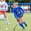 Hamilton College defender Aly Skelly (14)<br /> <br /> 9/30/17 11:05:54 AM Women's Field Hockey: Wesleyan University v Hamilton College, at Goodfriend Field, Hamilton College, Clinton, NY<br /> <br /> Final: Wesleyan 0  Hamilton 4<br /> <br /> Photo by Josh McKee