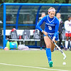 Hamilton College forward Michaela Giuttari (8)<br /> <br /> 9/30/17 11:03:20 AM Women's Field Hockey: Wesleyan University v Hamilton College, at Goodfriend Field, Hamilton College, Clinton, NY<br /> <br /> Final: Wesleyan 0  Hamilton 4<br /> <br /> Photo by Josh McKee