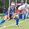 Hamilton College forward Tatiana Bradley (10)<br /> <br /> 9/30/17 11:04:41 AM Women's Field Hockey: Wesleyan University v Hamilton College, at Goodfriend Field, Hamilton College, Clinton, NY<br /> <br /> Final: Wesleyan 0  Hamilton 4<br /> <br /> Photo by Josh McKee