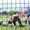 Hamilton College forward Michaela Giuttari (8), Hamilton College forward Tatiana Bradley (10), GOAL<br /> <br /> 9/30/17 11:04:13 AM Women's Field Hockey: Wesleyan University v Hamilton College, at Goodfriend Field, Hamilton College, Clinton, NY<br /> <br /> Final: Wesleyan 0  Hamilton 4<br /> <br /> Photo by Josh McKee
