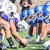 Linemen<br /> <br /> 9/23/17 1:37:24 PM Football:  Amherst College v Hamilton College at Steuben Field, Hamilton College, Clinton, NY<br /> <br /> Final:  Amherst 36  Hamilton 6<br /> <br /> Photo by Josh McKee