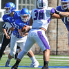 Hamilton College running back Mitch Bierman (27)<br /> <br /> 9/23/17 1:13:29 PM Football:  Amherst College v Hamilton College at Steuben Field, Hamilton College, Clinton, NY<br /> <br /> Final:  Amherst 36  Hamilton 6<br /> <br /> Photo by Josh McKee